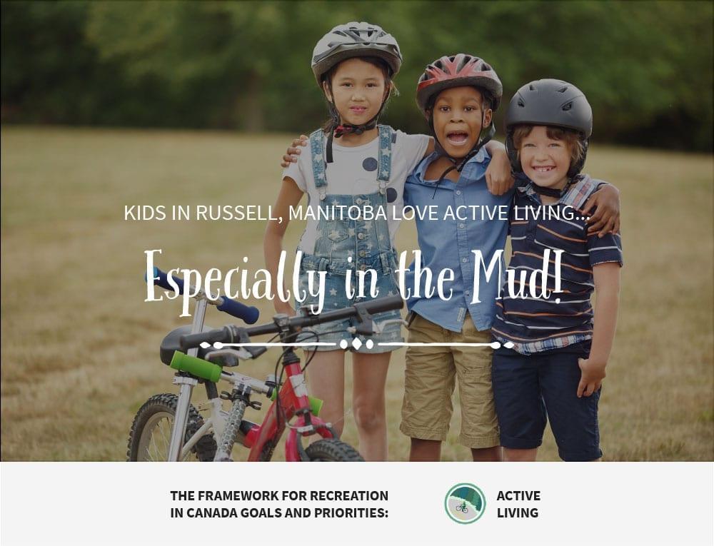 Kids in Mud - Russell MB